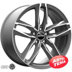 Купить Легковой диск GMP Italia ATOM Matt Anthracite Diamond R17 W7.5 PCD5x112 ET28 DIA66.5