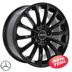 Купить Легковой диск GMP Italia STELLAR Glossy Black R22 W10 PCD5x112 ET50 DIA66.6