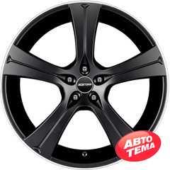Купить Легковой диск GMP Italia BURAN Matt Black Diamond Lip R22 W9,5 PCD5x112 ET45 DIA75