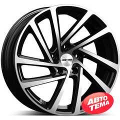 Купить Легковой диск GMP Italia WONDER Black Diamond R16 W6.5 PCD5x112 ET45 DIA57.1