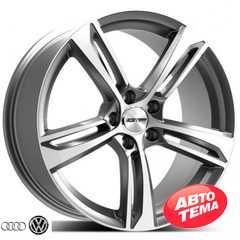 Купить Легковой диск GMP Italia PAKY Matt Anthracite Diamond R20 W8.5 PCD5x112 ET42 DIA66.5