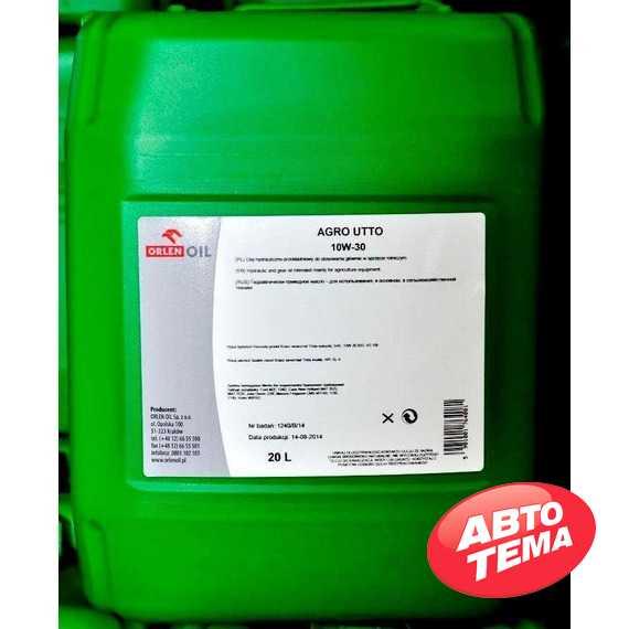 Купить Трансмиссионно-гидравлическое масло ORLEN AGRO UTTO 10W-30 (5л)