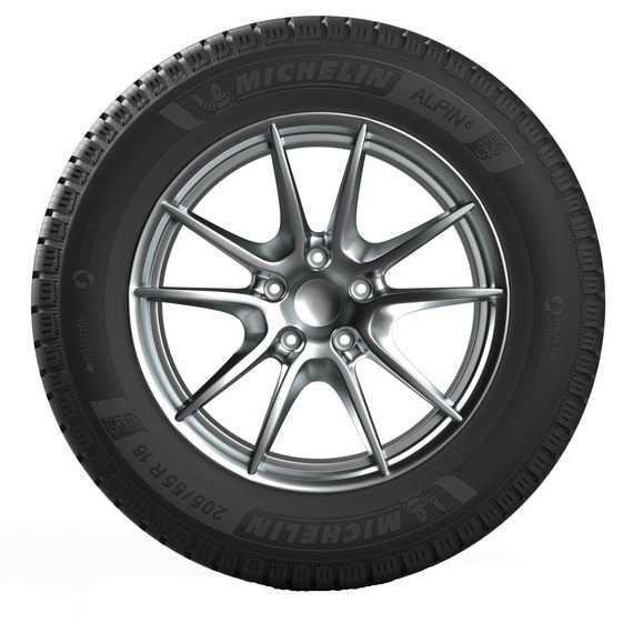 Зимняя шина MICHELIN Alpin 6 - Интернет магазин резины и автотоваров Autotema.ua