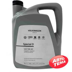 Купить Моторное масло VAG VW Special D 5W-40 (5л)
