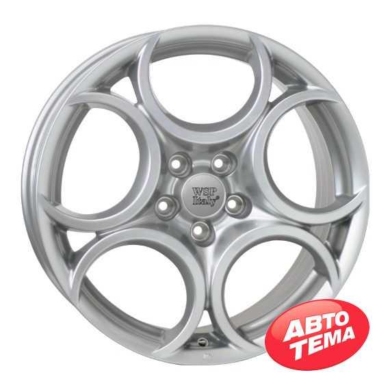 Купить Легковой диск WSP ITALY ROMEO W257 SILVER R18 W7.5 PCD5x110 ET41 DIA65.1