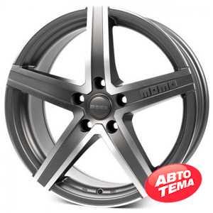 Купить Легковой диск MOMO Hyperstar Evo Anthracite Matt Polished R17 W7 PCD4x108 ET25 DIA65.1