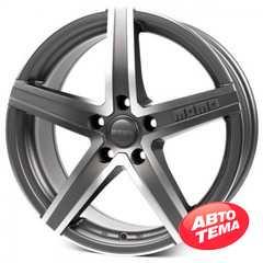 Купить Легковой диск MOMO Hyperstar Evo Anthracite Matt Polished R17 W7.5 PCD5x114.3 ET48 DIA72.3