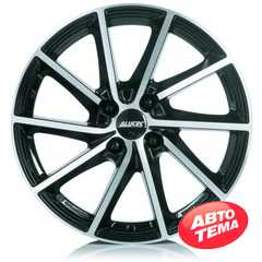 Купить Легковой диск ALUTEC Singa Diamond Black Front Polished R16 W6 PCD4x108 ET23 DIA65.1