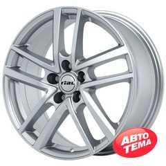 Купить Легковой диск RIAL Astorga Polar Silver R16 W6.5 PCD5x114.3 ET50 DIA67.1