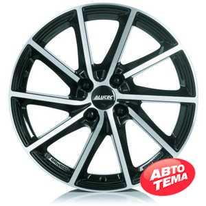 Купить Легковой диск ALUTEC Singa Diamond Black Front Polished R16 W6.5 PCD5x114.3 ET42.5 DIA67.1