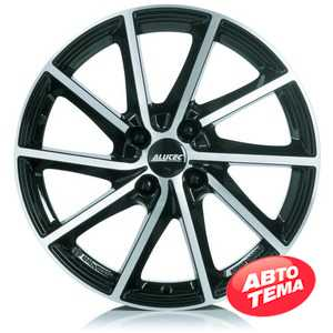 Купить Легковой диск ALUTEC Singa Diamond Black Front Polished R17 W7 PCD5x114.3 ET51 DIA67.1