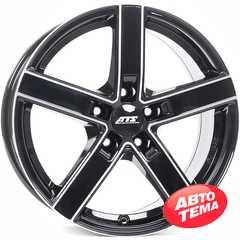 Купить Легковой диск ATS ATS Emotion Diamond Black Kontur Polished R16 W7 PCD5x120 ET31 DIA72.6