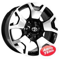 Купить Легковой диск REPLICA TY1460 BKF R17 W7.5 PCD6X139.7 ET25 DIA106.1