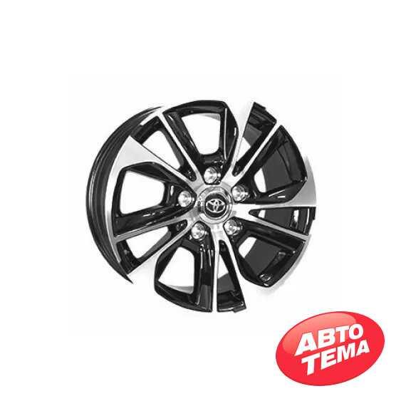 Купить Легковой диск REPLICA TY5455 BKF R18 W8 PCD5X150 ET45 DIA110.1
