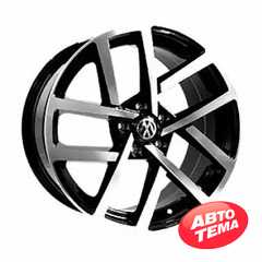 Купить Легковой диск REPLICA VV243 BKF R18 W8 PCD5X112 ET45 DIA66.6
