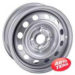 Купить STEEL TREBL 4375T Silver R13 W5 PCD4x100 ET46 DIA54.1