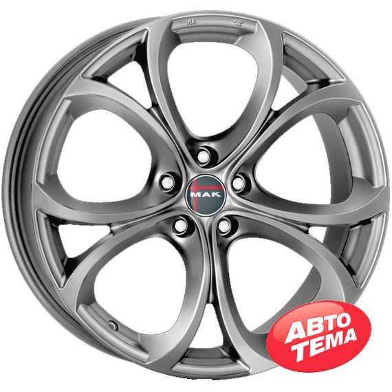 Купить Легковой диск MAK Laroi Matt Titan R18 W8 PCD5x110 ET34 DIA65.1