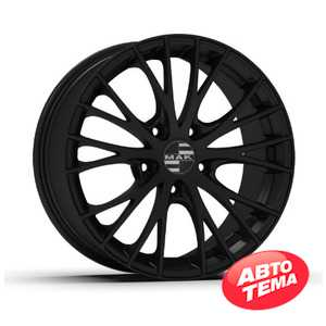 Купить MAK RENNEN Matt Black R19 W8 PCD5x110 ET33 DIA65.1