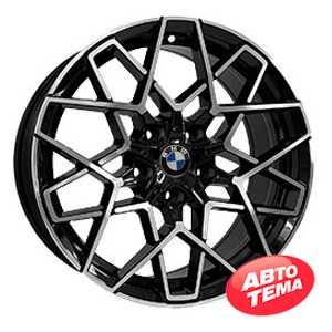Купить REPLICA B5607 BKF R19 W9 PCD5x120 ET35 DIA72.6