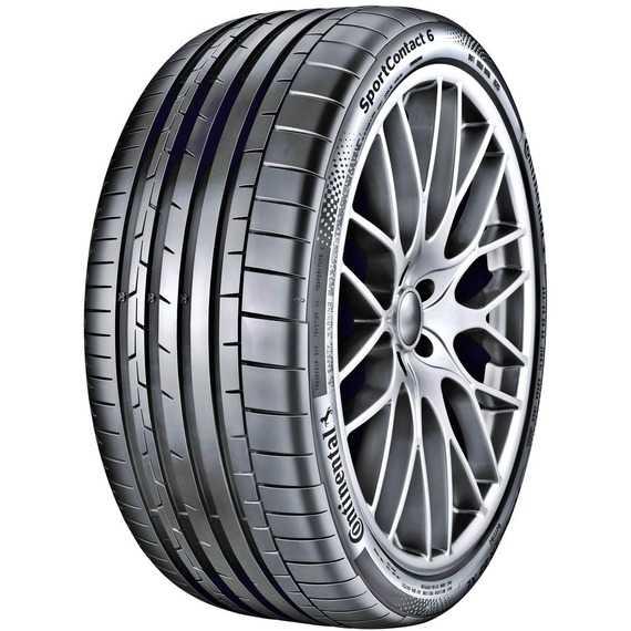 Купить Летняя шина CONTINENTAL ContiSportContact 6 265/35R22 102Y