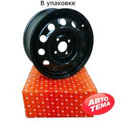 Купить Легковой диск ДОРОЖНАЯ КАРТА Renault Logan, MCV Black R15 W6 PCD4x100 ET50 DIA60.1