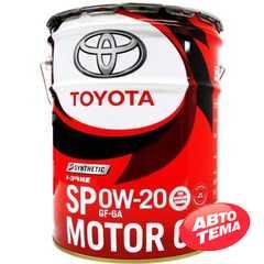 Купить Моторное масло TOYOTA Synthetic Motor Oil 0W-20 SP/GF6A (20л)