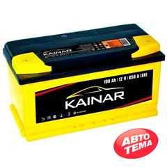 Купить Аккумулятор KAINAR Standart Plus 100Ah-12v (353х175х190),L,EN850