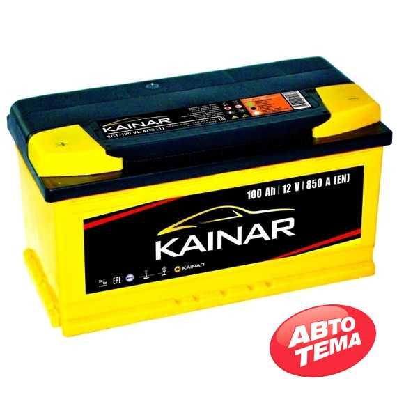 Купить Аккумулятор KAINAR Standart Plus 100Ah-12v (353х175х190),R,EN850