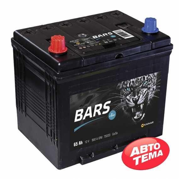Купить Аккумулятор BARS ASIA 6СТ-65 R Plus (пт 560)(обслуж)