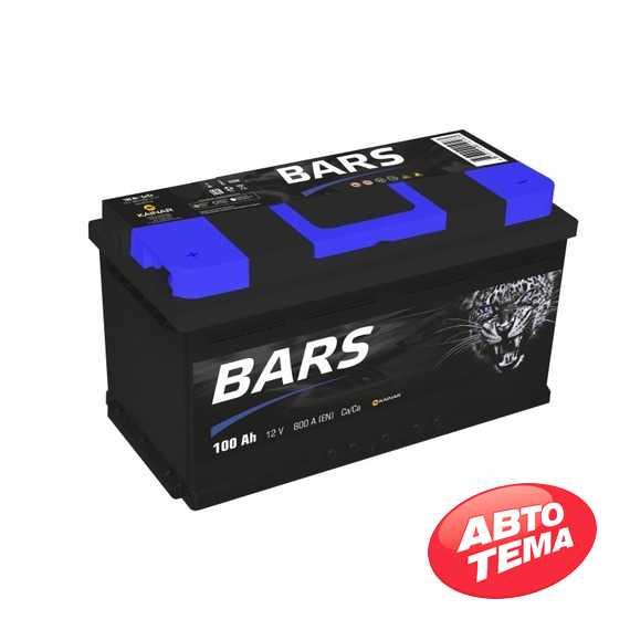 Купить Аккумулятор BARS 6СТ-100 L Plus (пт 780)