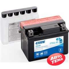 Купить Аккумулятор EXIDE AGM (ETX4L-BS) 3Ah-12v (113х70х85) R, EN50