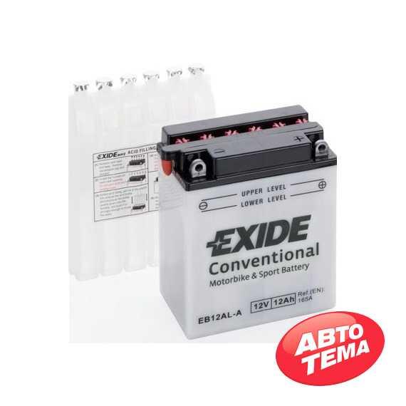 Купить Аккумулятор EXIDE (EB12AL-A2) 12Ah-12v (134х80х160) R, EN165