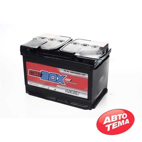 Купить Аккумулятор StartBOX Premium 75Ah-12v (276x175x190),L,EN680