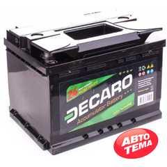 Купить Аккумулятор DECARO START 60Ah-12v (242x175x190),R,EN480