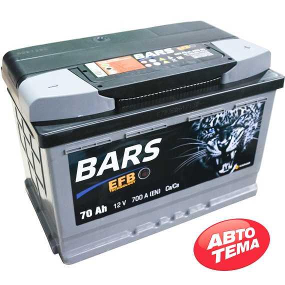 Купить Аккумулятор BARS (EFB) 6СТ-70 R Plus (пт 700)