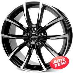 Купить Легковой диск AUTEC Astana Schwarz poliert R17 W7 PCD5x112 ET47 DIA66.6