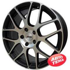 Купить Легковой диск AUTEC Hexano Schwarz matt poliert R17 W7.5 PCD5x120 ET37 DIA70.1