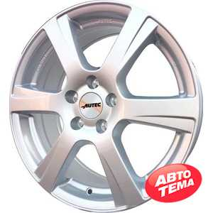 Купить Легковой диск AUTEC Polaric Original Brillantsilber R15 W6 PCD4x108 ET45 DIA63.3